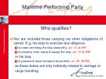 maritime performing party23