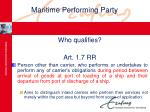 maritime performing party25