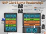 nap client server relationships