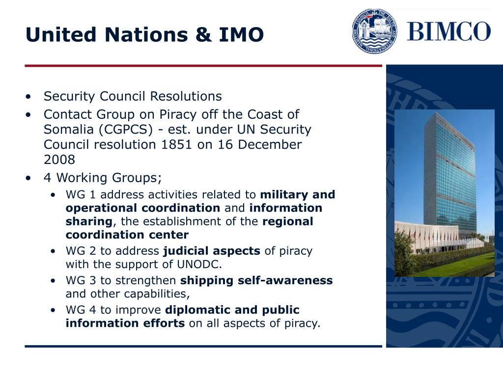 United Nations & IMO