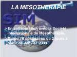 la mesotherapie