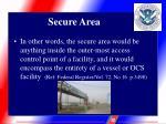 secure area3