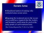 secure area4
