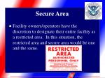 secure area8