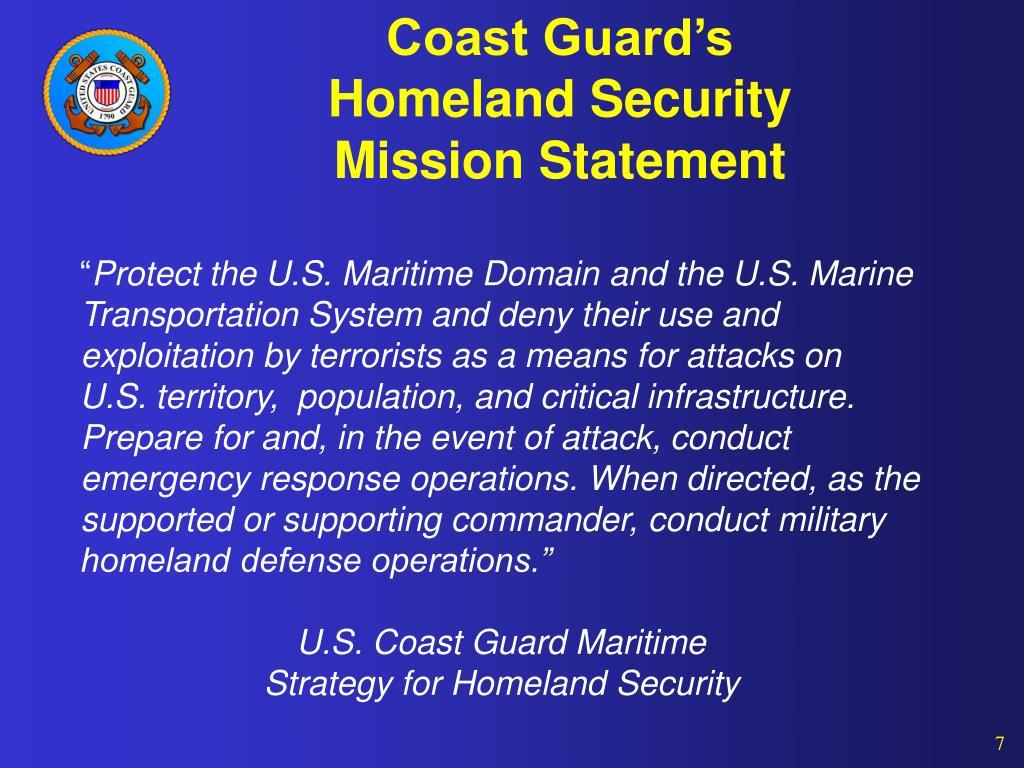 Coast Guard's