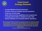 coast guard strategy elements