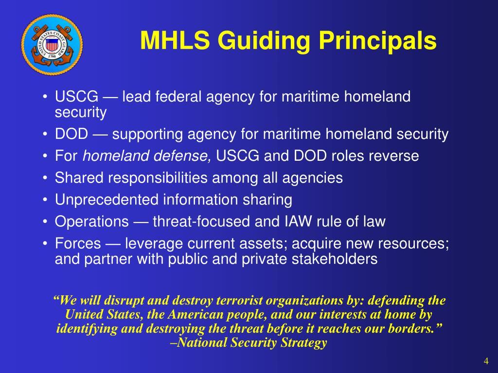 MHLS Guiding Principals