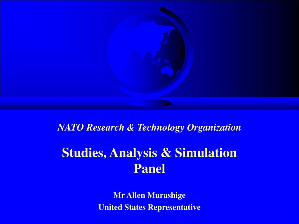 nato research technology organization l.