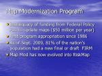 map modernization program