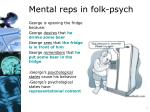 mental reps in folk psych