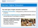german higher education