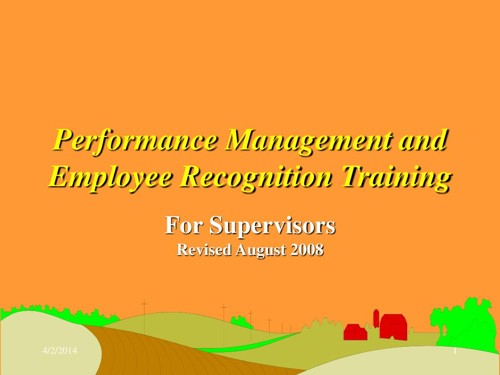 performance management and employee recognition training l.