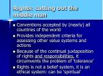 rights cutting out the middle man