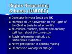rights respecting schools unicef