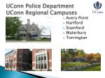 uconn police department uconn regional campuses