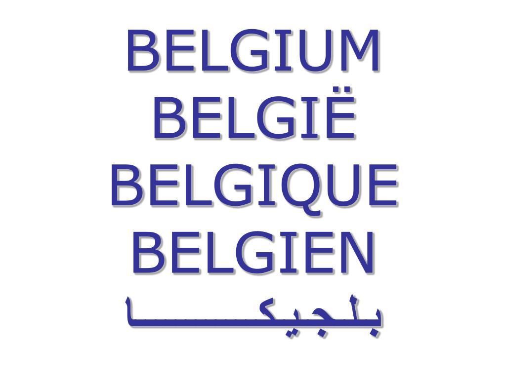 belgium belgi belgique belgien l.