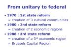 from unitary to federal17
