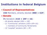 institutions in federal belgium21