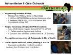 humanitarian civic outreach