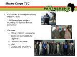 marine corps tsc
