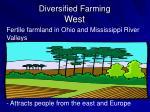 diversified farming west