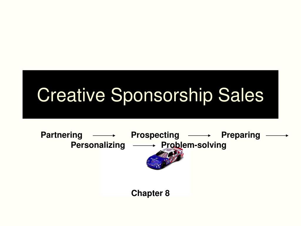 creative sponsorship sales l.