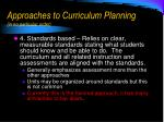 approaches to curriculum planning in no particular order3