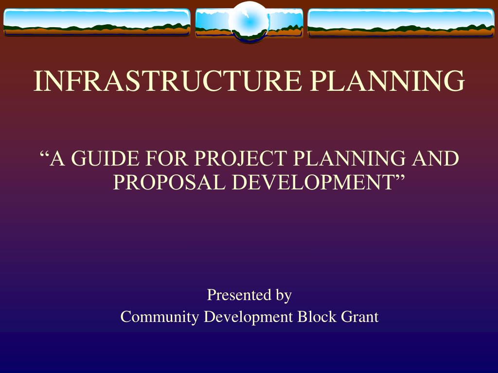 infrastructure planning l.