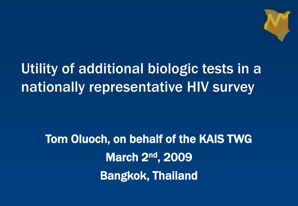 tom oluoch on behalf of the kais twg march 2 nd 2009 bangkok thailand l.