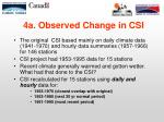 4a observed change in csi