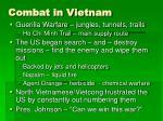 combat in vietnam
