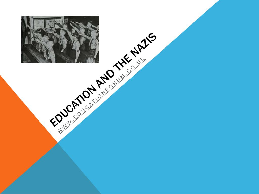 education and the nazis l.