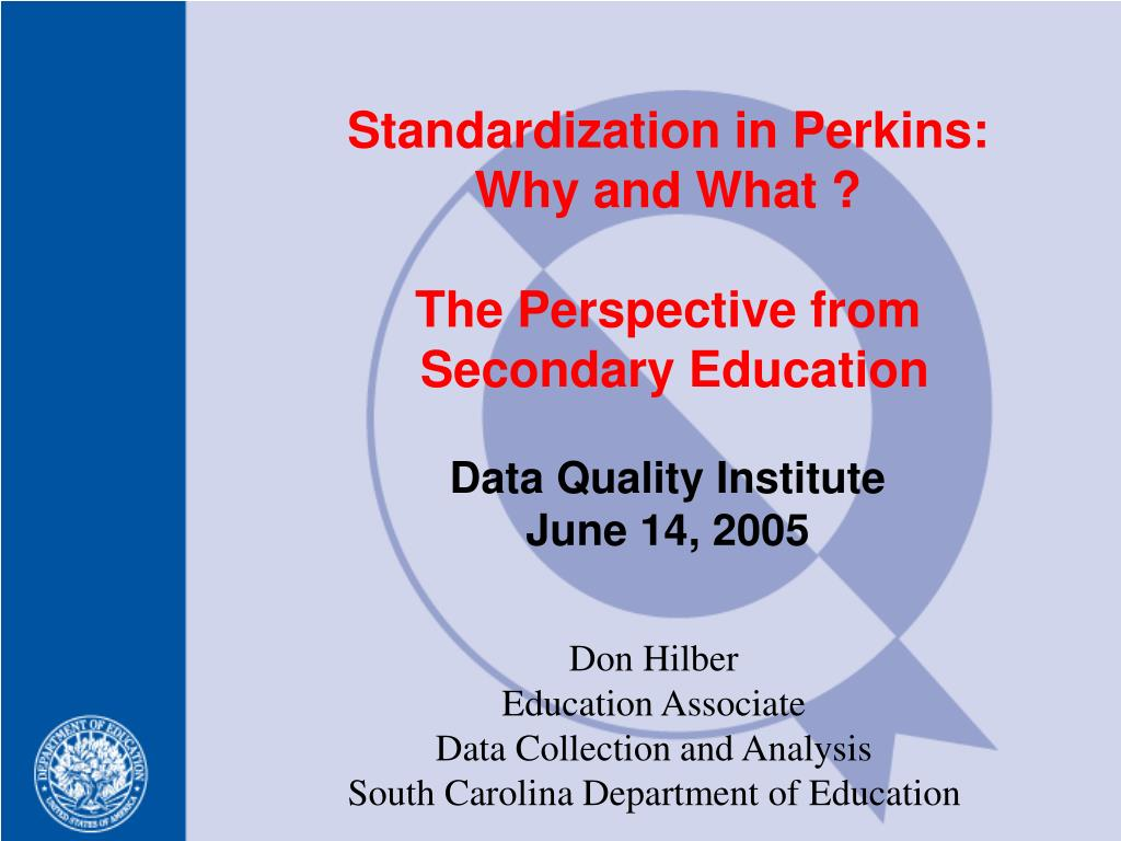 don hilber education associate data collection and analysis south carolina department of education l.