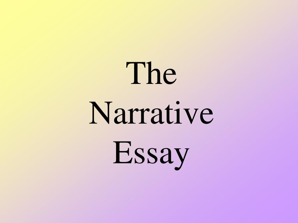 the narrative essay l.