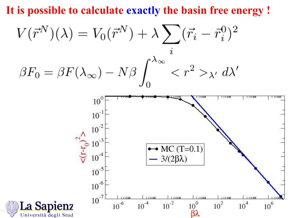 It is possible to calculate