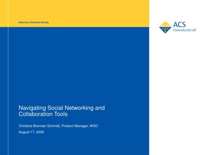 navigating social networking and collaboration tools n.