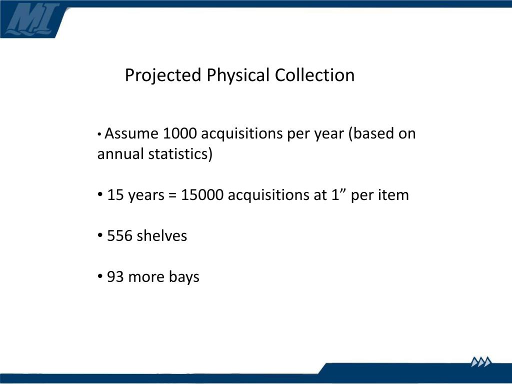 Projected Physical Collection