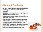 history fun facts