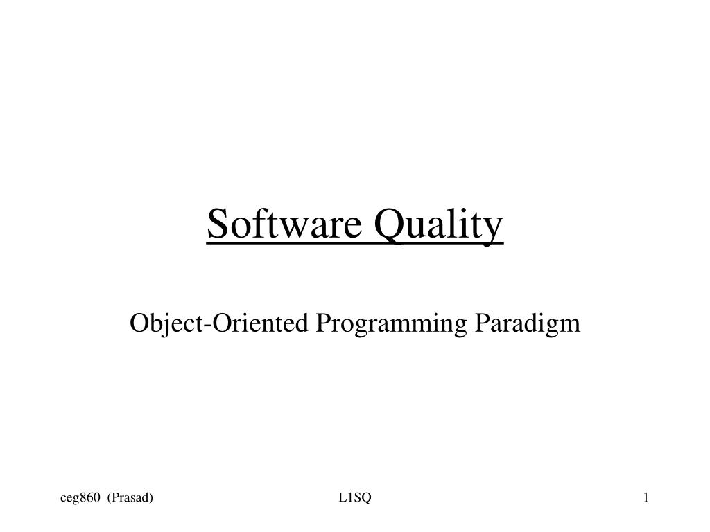 software quality l.