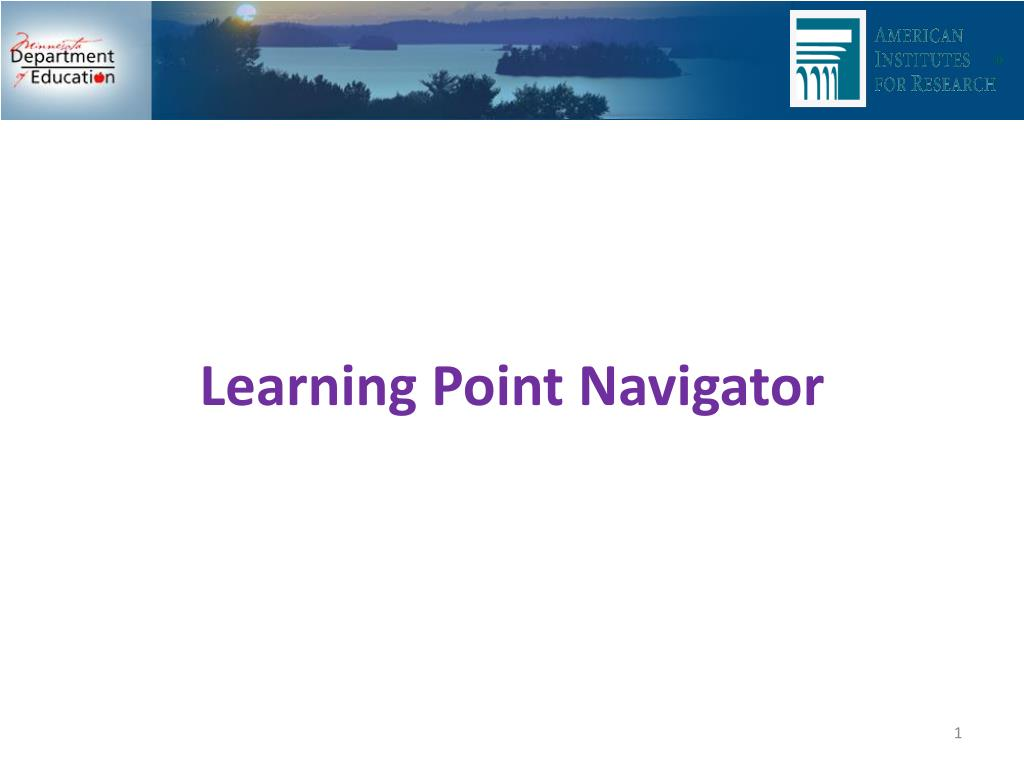 learning point navigator l.