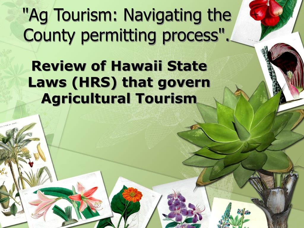 ag tourism navigating the county permitting process l.