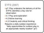 eyfs 2007