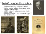 20 000 leagues comparison