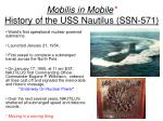 mobilis in mobile history of the uss nautilus ssn 571