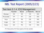nbl test report 2005 2 2376