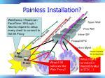 painless installation
