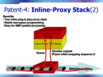 patent 4 inline proxy stack 2