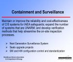 containment and surveillance