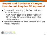 report and go other changes that do not require ed approval3