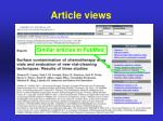 article views4